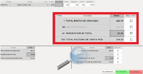 cm permite editar importes